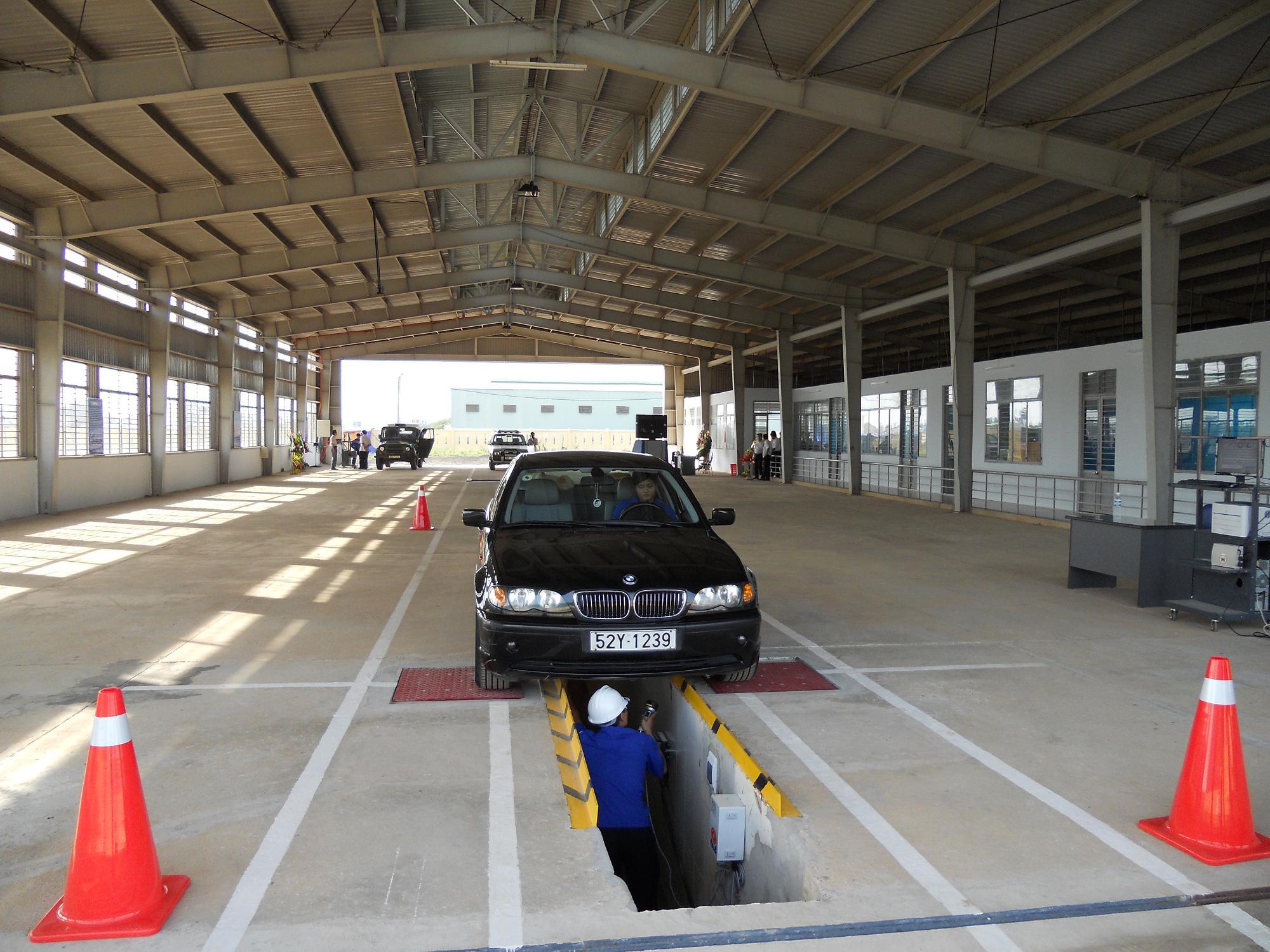 Thủ tục đăng kiểm xe lần đầu