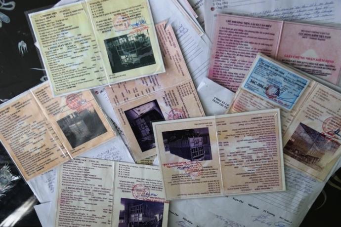 Mất giấy đăng kiểm xe cần làm gì (1)