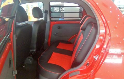 xe van lắp ghế