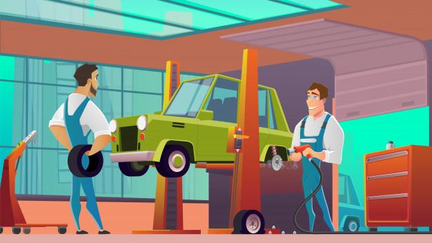 dịch vụ đăng kiểm xe hơi